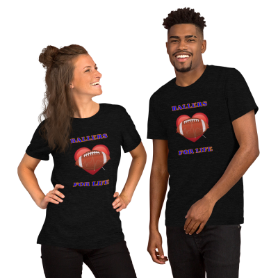 Ballers For Life - Short-Sleeve T-Shirt - For Him or For Her