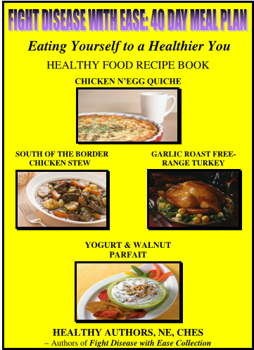 40 DAY MEAL PLAN BOOK - Fight Disease with Ease