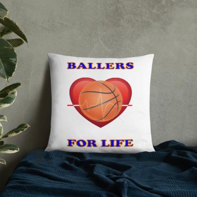 Ballers For Life Basic Pillow