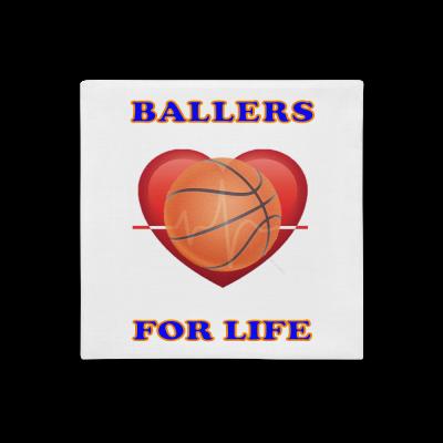 Ballers for Life Premium Pillow Case