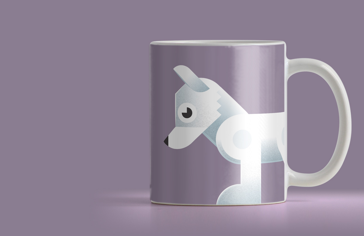 Add a splash of colour to your home or office with these mugs featuring geometric animal designs. See our collection and choose your favorite.