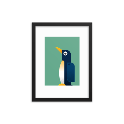 Framed Penguin