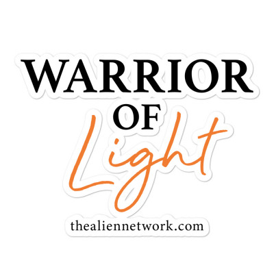 Warrior of Light Stickers, Indigos, Healers, Starseeds, Warriors, Lightworkers, Activist, Scrapbooking, Spiritual Bumper Sticker