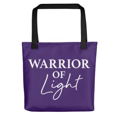 Warrior of Light Spiritual Bag | Cute Bags | Starseeds | Indigos | Healer | Spirituality | Lightworker | Manifestation | LOA | Crystals