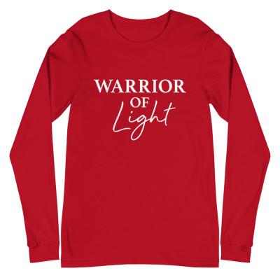 Warrior of Light Long Sleeve Shirt | Unisex | Indigos, Warriors, Starseeds, Lightworker, Healer Shirts, Manifestation, Vegetarian Shirts