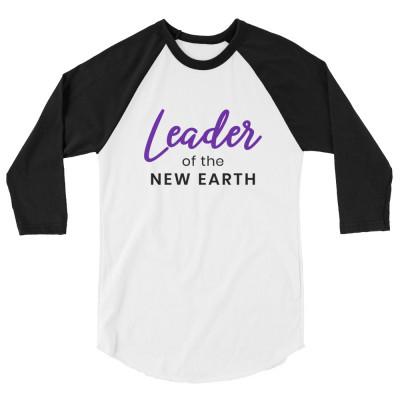 Leader of the New Earth Long Sleeve Unisex Shirt, Indigos, Warriors, Starseeds, Lightworker, Healer Shirts, Manifestation, Leadership, Crystals
