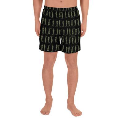 Men's Alien Shorts | Starchild Shorts | Men's Shorts Alien Invasion | Indigo Warrior Shorts | Starbeings | UFOS Clothing