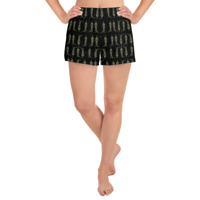 Women's Alien Shorts | Starchild Shorts | Indigo Warrior Shorts | Indigo Adult Clothing | Aliens | UFO Clothing | Starbeings | 5D | Ascension