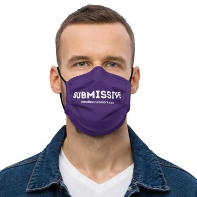 Submissive Covid Mask Premium Unisex | Covid Slave Mask | Covid Gag Gifts