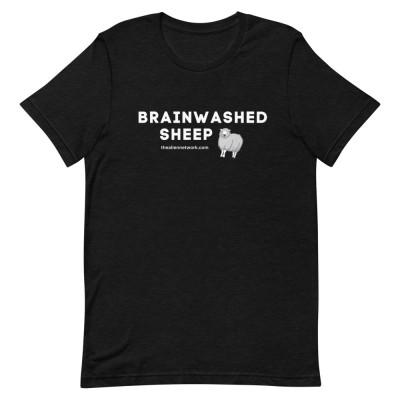 Brainwashed Sheep Short-Sleeve Unisex T-Shirt | Covid Gag Gift | Covid Slave Gear