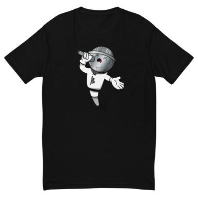 Men's Microphone Short Sleeve T-shirt