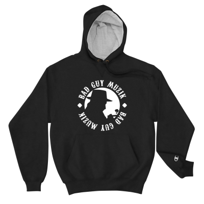 Men's Champion Hoodie w/ White Logo