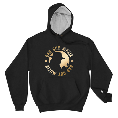 Men's Champion Hoodie w/ Gold Logo