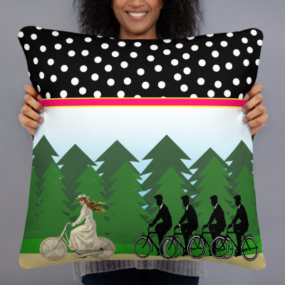 A Merry Chase Pillow