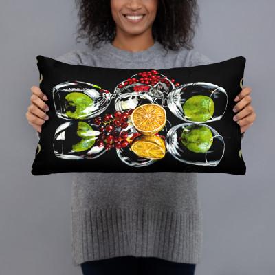 Citrus Reflection Pillow