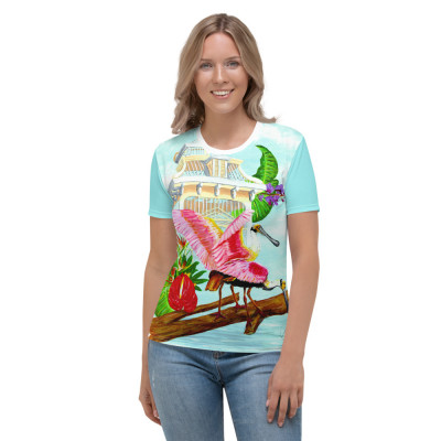 Floridian Spoonbills Women's T-shirt
