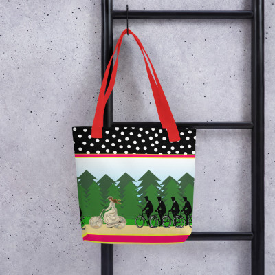 A Merry Chase Tote bag