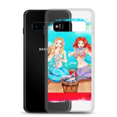 'She Did it', Mermaid Sisters Samsung Case