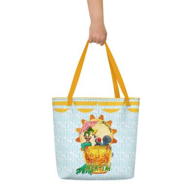 Mer-Tai Cocktail Beach Bag