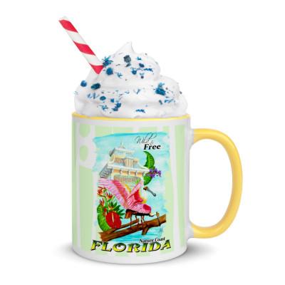 Florida Spoonbills mug