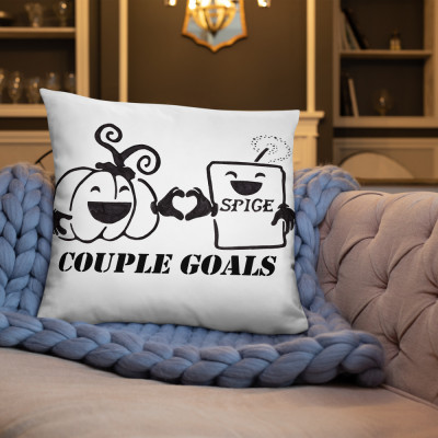 Couple Goals Basic Pillow