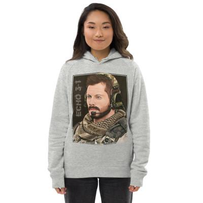 Alex Echo 3-1 Pastel Art Unisex pullover hoodie