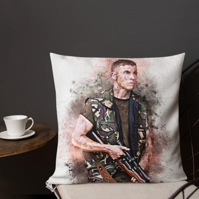 Baby Beckett Grunge Premium Pillow