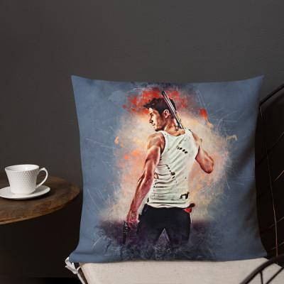 Collins Grunge Premium Pillow