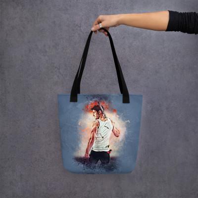Collins Grunge Art Tote bag