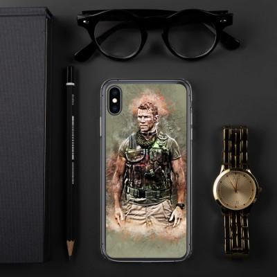 Sniper Beckett Grunge Art iPhone Case