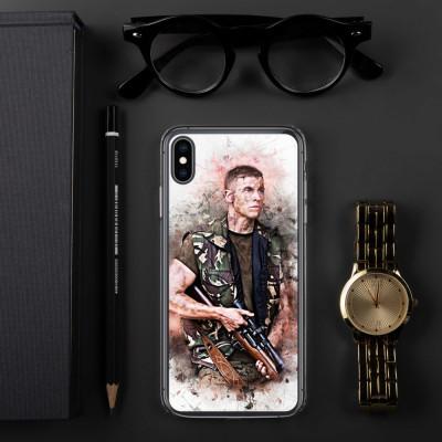 Sniper Beckettt Grunge iPhone Case