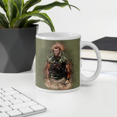 Sniper Beckett Grunge Art Mug