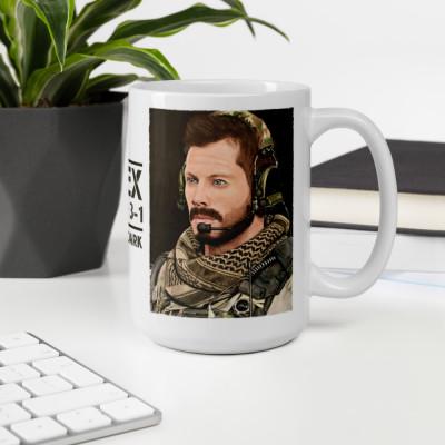 Call Of Duty Alex Echo 3-1 Pastel Pencil Drawing Mug