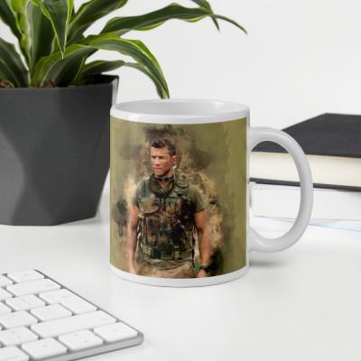 Sniper Beckett Watercolour Art Mug