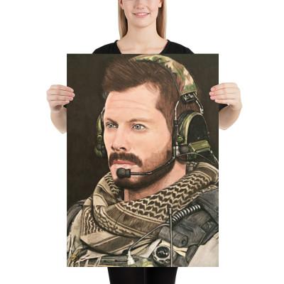 Call of Duty Alex Echo 3-1 Pastel Art Poster