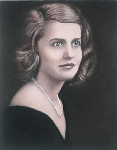 People Pastel Pencil Portrait Commission Art