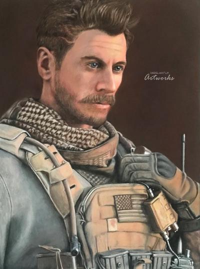 Character Pastel Pencil Portrait Commission Art