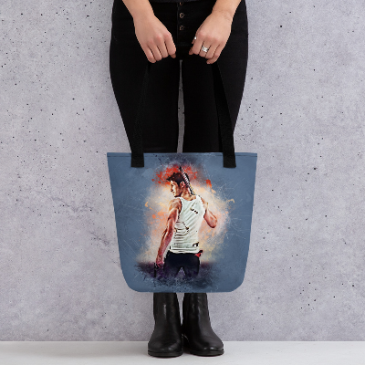 Collins Grunge Art Tote bag
