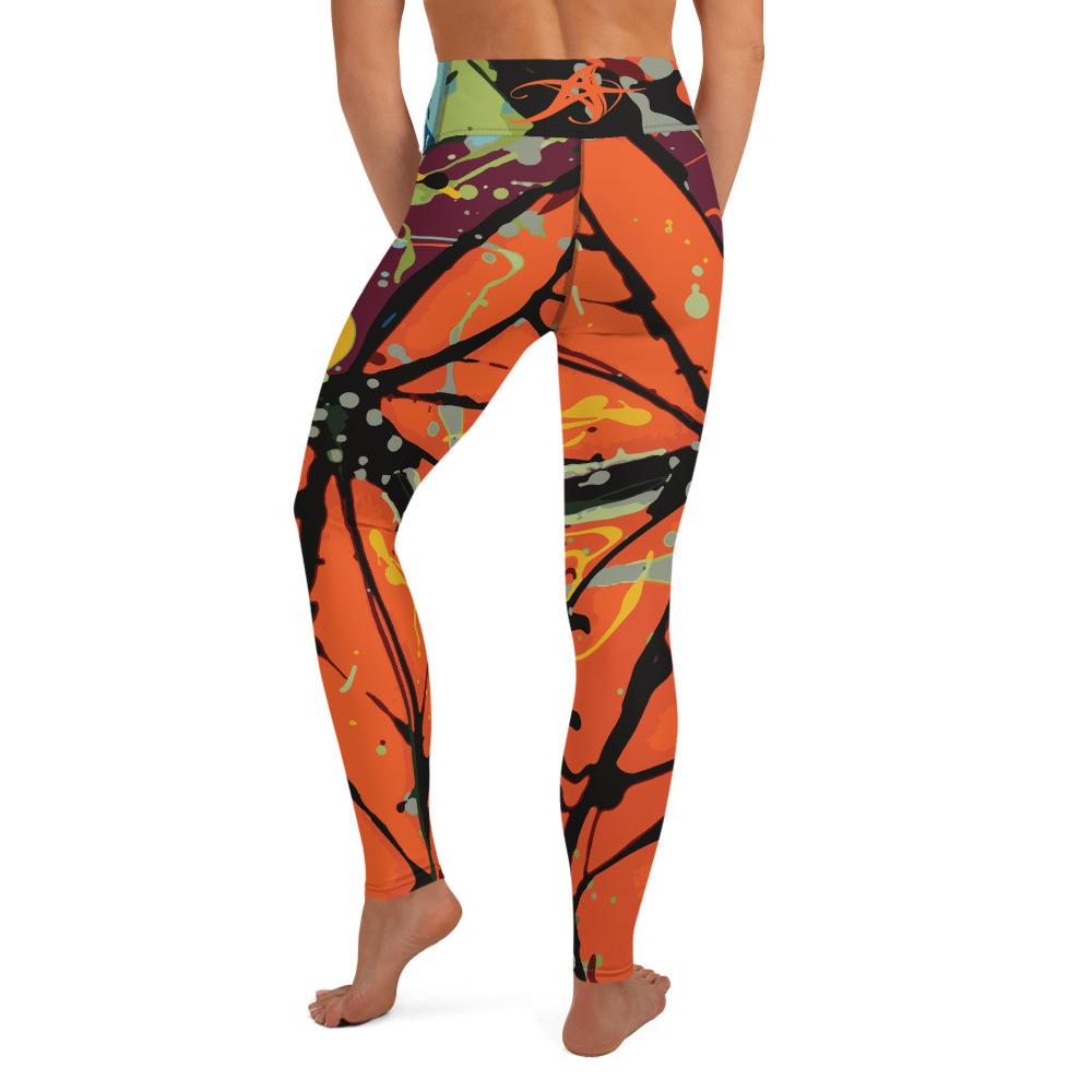 """""""Butterfly"""" Yoga Leggings"""