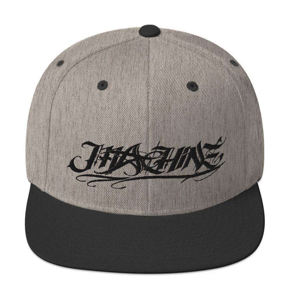 Straight Up MACHINE Snapback Hat