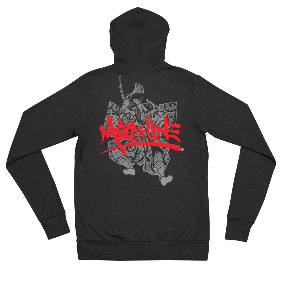 Bushi MACHINE Unisex zip hoodie