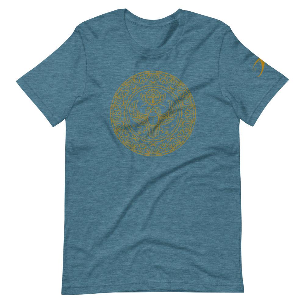 Scarab Mandala Short-Sleeve Unisex T-Shirt