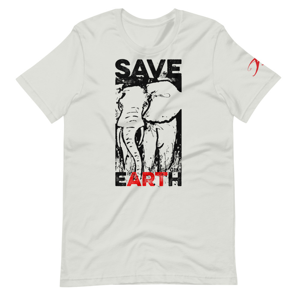 SAVE eARTh - Short-Sleeve Unisex T-Shirt