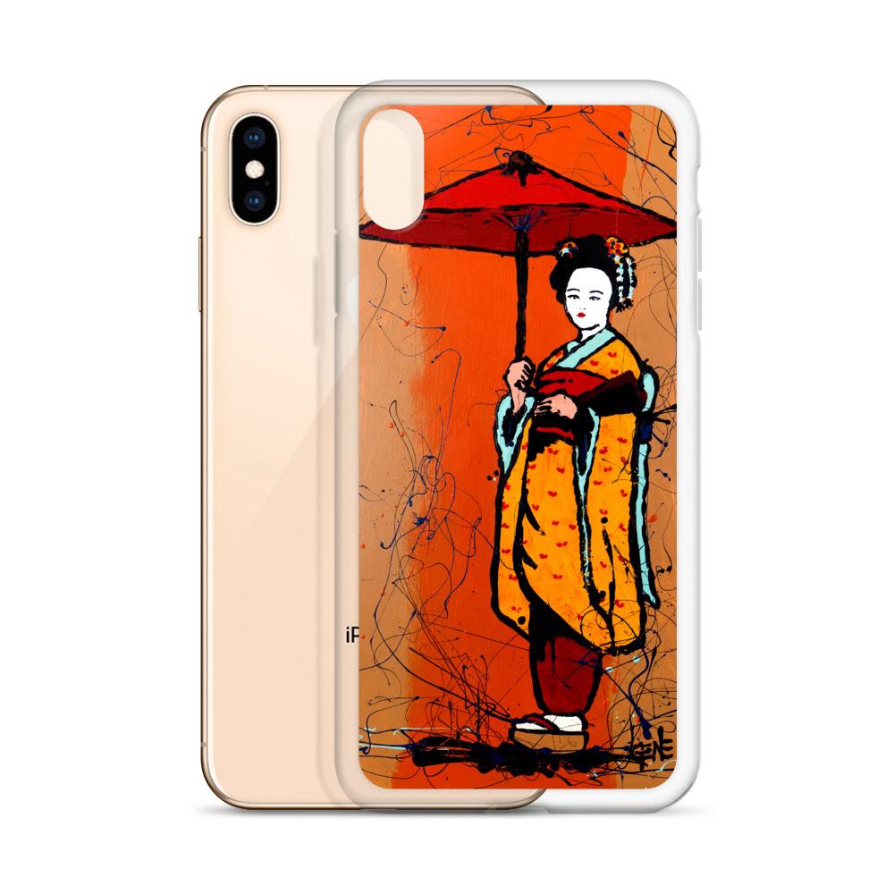 'Red Umbrella' iPhone Case