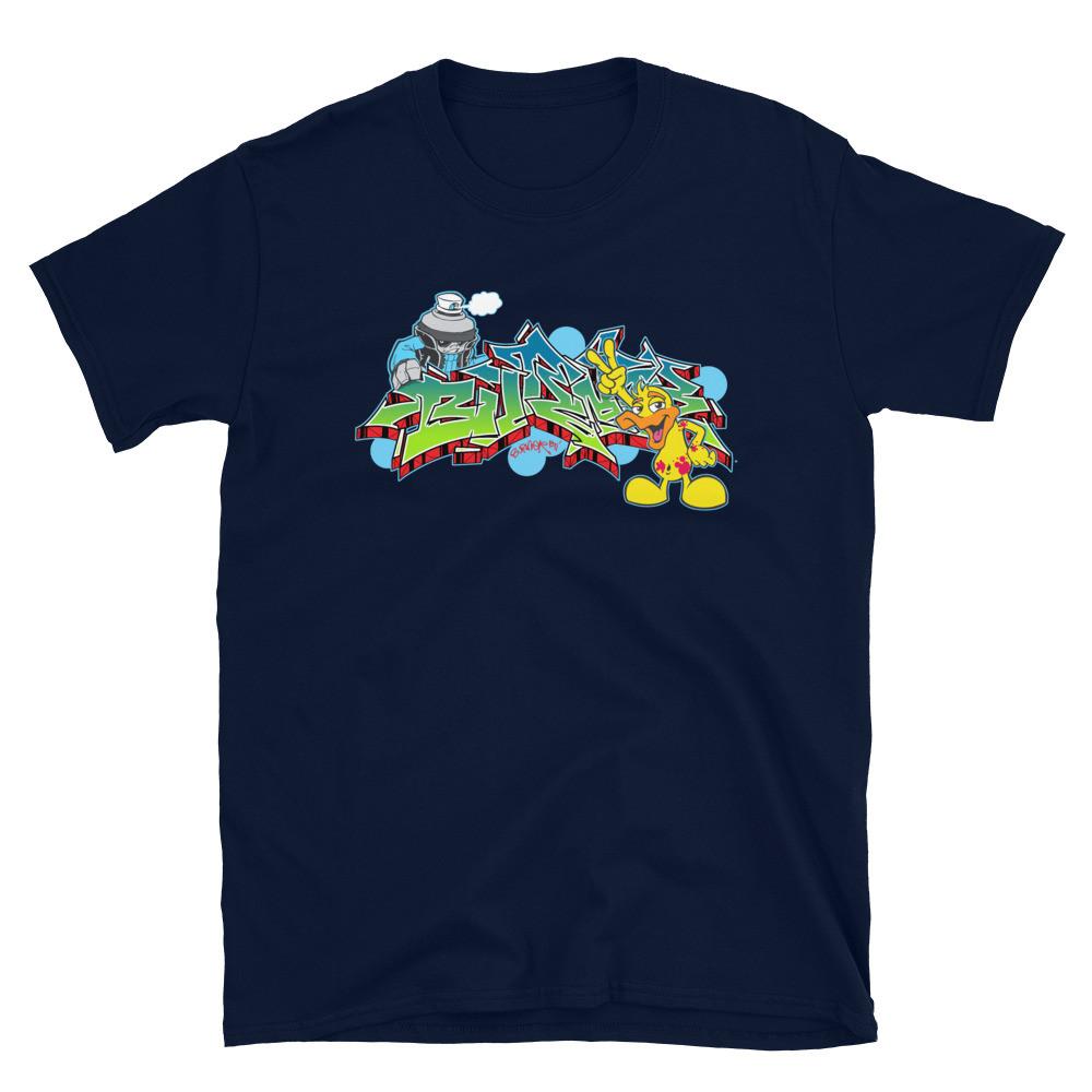BURNER Duo Short-Sleeve Unisex T-Shirt