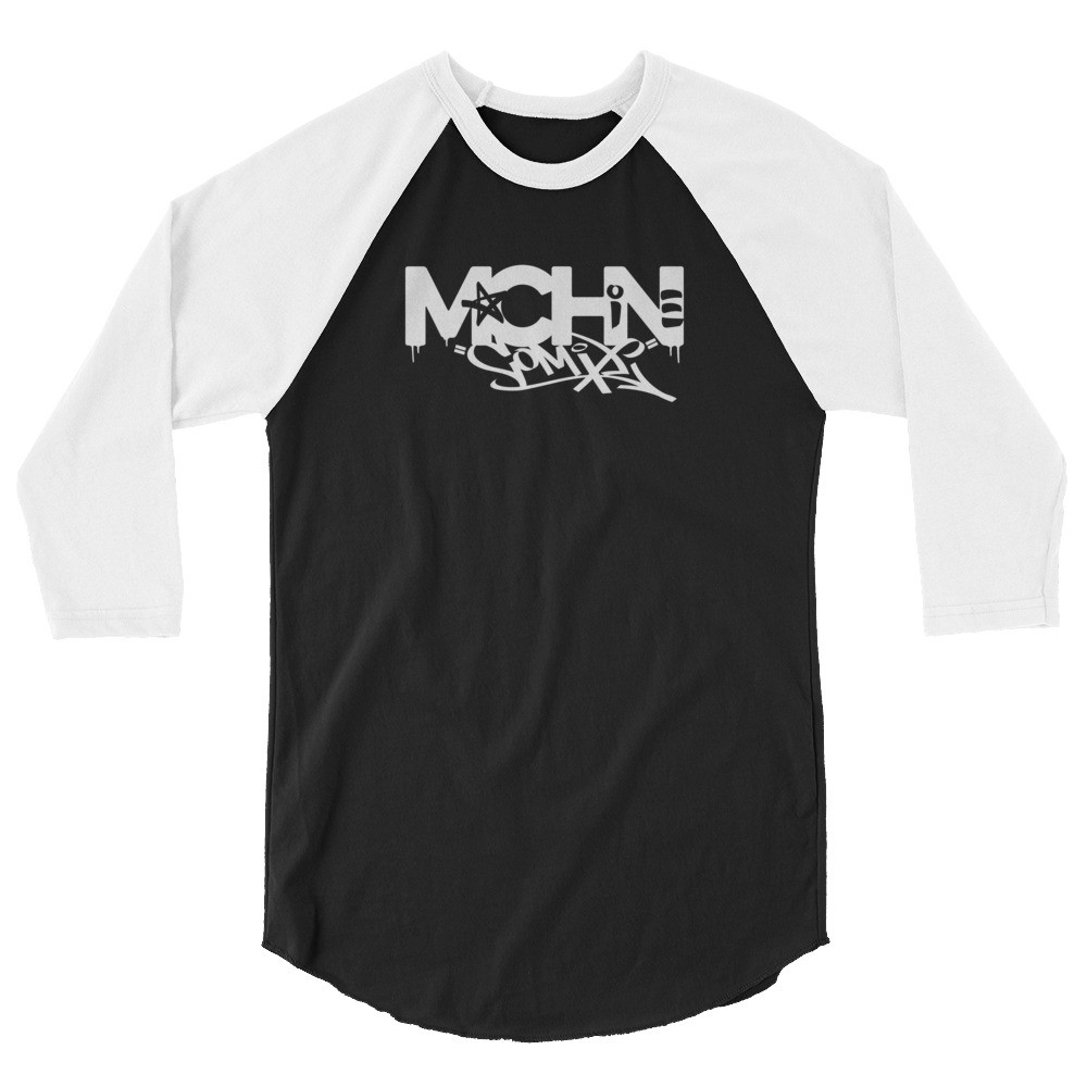 MACHINE COMIX 3/4 sleeve raglan shirt