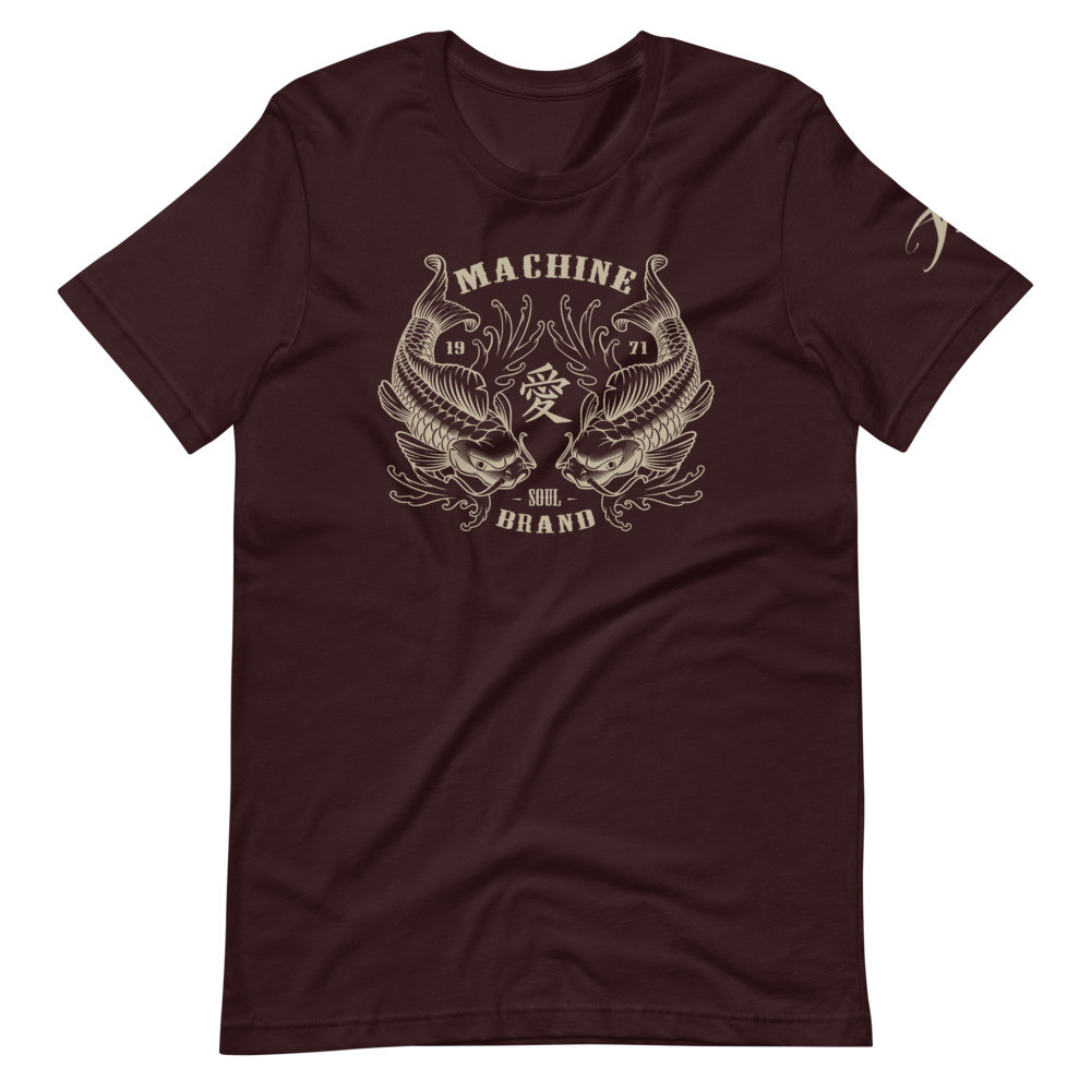 Double Koi MACHINE Soul Brand Short-Sleeve Unisex T-Shirt