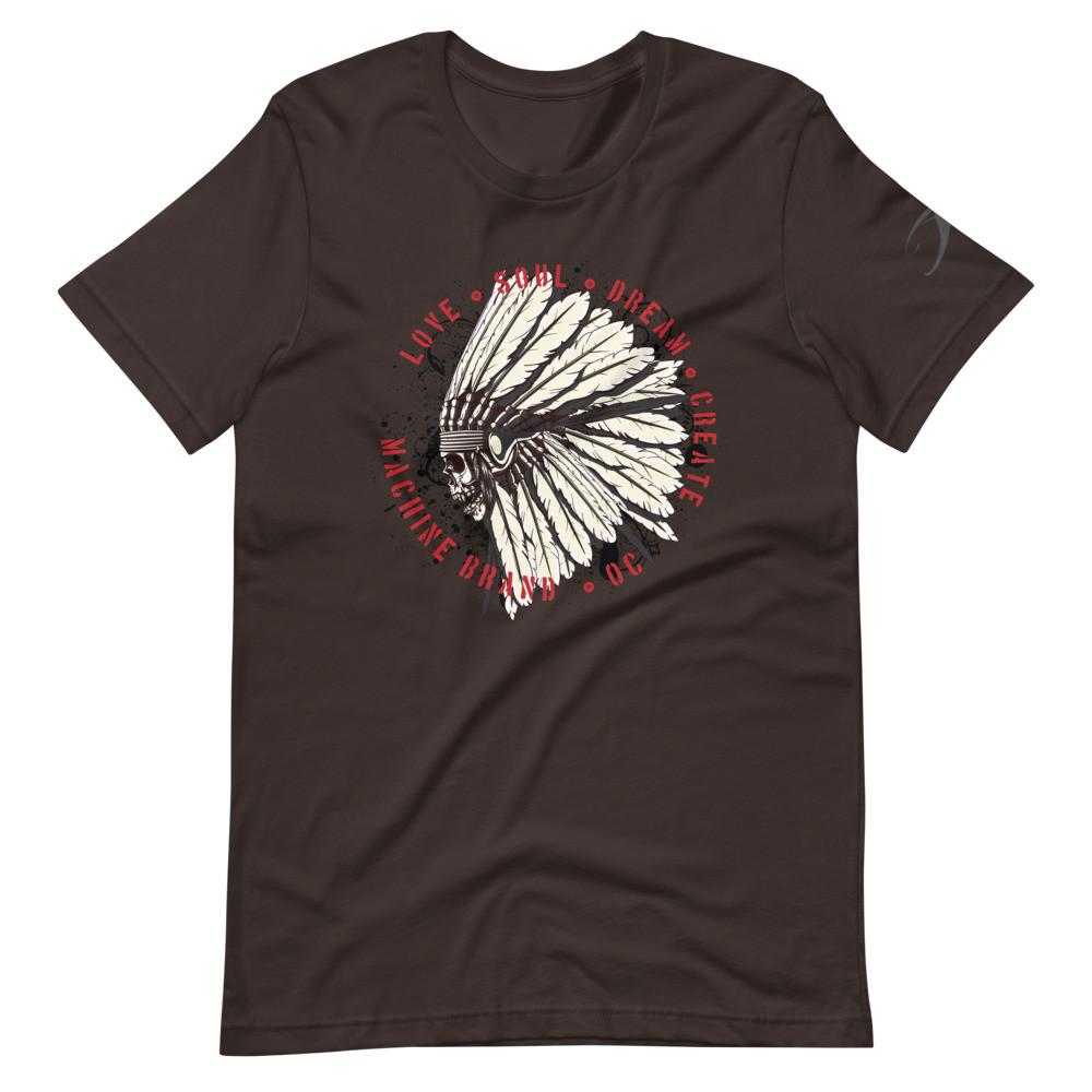 Head-dress Love Soul Dream Create Short-Sleeve Unisex T-Shirt