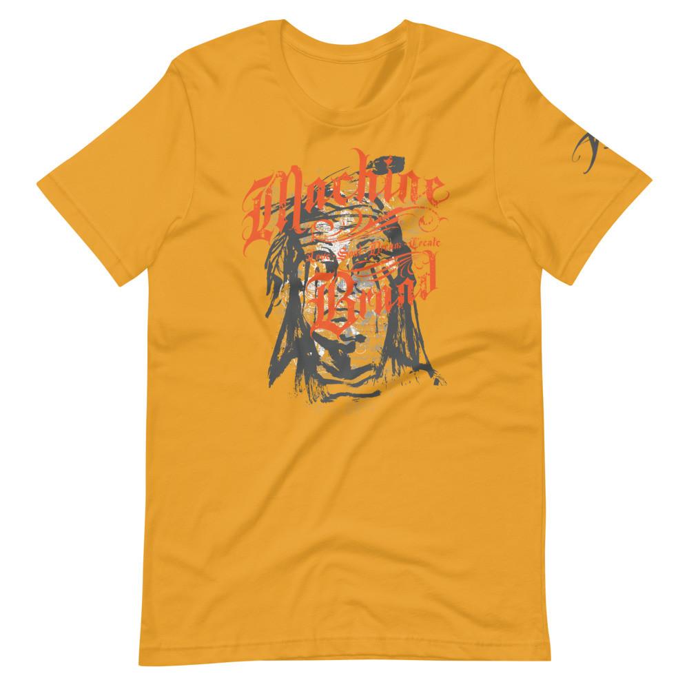MACHINE BRAND - Two-Bears. Short-Sleeve Unisex T-Shirt