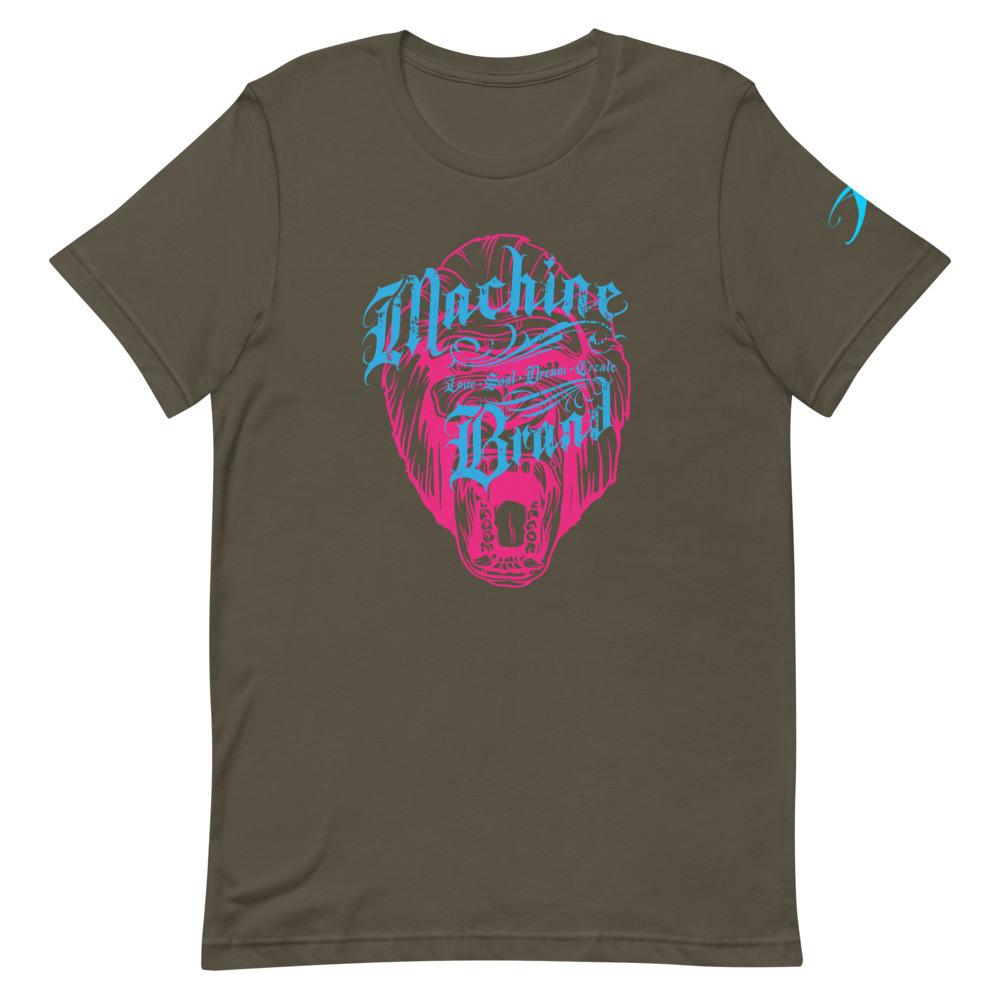 MACHINE BRAND - Gorilla - Short-Sleeve Unisex T-Shirt